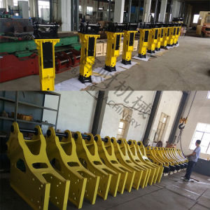 Side Type Excavator Hydraulic Breaker with 140mm Chisel pictures & photos