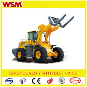 18t Wheel Forklift Loader with Ce Can Change Bucket Wsm951t18 pictures & photos