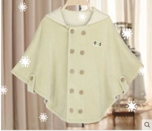 New Organic Cotton Baby Cloak with Fashion Design From China pictures & photos