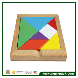 Colorful Seven-Piece Puzzle Wooden Montessori Material pictures & photos