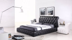 A512 Italian Design King Size Bed Frame pictures & photos