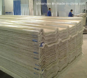 Shanghai Supplier Translucent PVC Roof Tiles with Cost Price pictures & photos