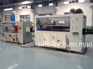 High Speed Single Screw Extruder PE HDPE PPR Pipe Extrusion Production Line pictures & photos