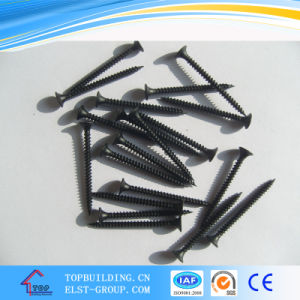 # 3.5*25 Bugle Heand Drywall Screws/Black Gypsum Board Screws pictures & photos