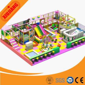 Kids Jungle Theme Indoor Playground Equipment (XJ1001-K7931) pictures & photos