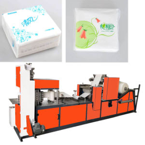 Napkin Tissue Paper Folding Making Machine pictures & photos