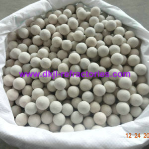 Support Media or Catalyst Carrier Inert Alumina Ceramic Balls pictures & photos