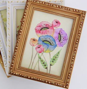 Wholesale Wall Hang Wooden Frames for Oil Painting pictures & photos