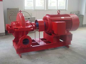 Single-Suction Multi-Stage Sectional-Type Fire-Fighting Pump pictures & photos
