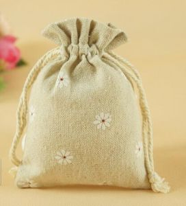Natural Style Colored Burlap Jute Bag pictures & photos