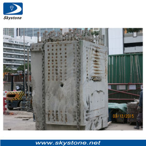 Reinforced Concrete with Steel Sawing by Diamond Wires pictures & photos