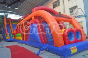 2015 Cheap New Inflatable Obstacle Slide Tunnel Combo pictures & photos