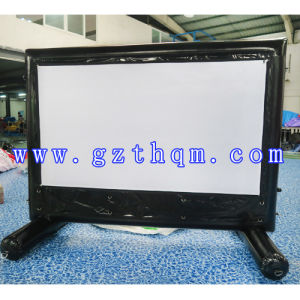 Durable PVC Tarpaulin Classic High Quality Outdoor Inflatable Advertising Movie Theater Screen pictures & photos