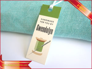 Textile Hang Tag Printed Shoes Tag Hat Paper Tag pictures & photos