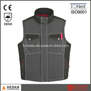 Mens Winter Padded Bodywarmer Designer Waistcoat and Safety Vest pictures & photos