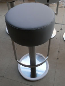 Round PU High Seat Bar Chair pictures & photos