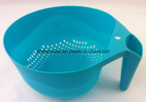 Round PP Colander with Stand, PP Colander pictures & photos