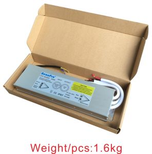 Hyrite Waterproof LED Driver 12V/24V 300W IP67 Slim High Efficiency90% Power Supply for Illuminated Signs pictures & photos