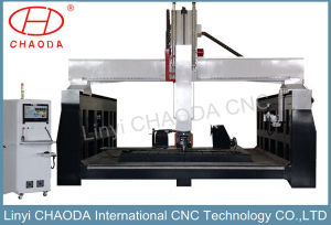 Large! 5 Axis 3D CNC Carving Machine for Wood Foam Mould Jc-5 Axis pictures & photos