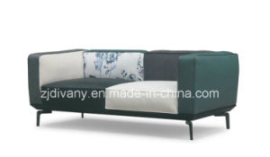 Italian Modern Style Fabric Flower Sofa Home Sofa (D-73-A+B) pictures & photos