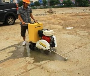 Walk Behind Concrete Cutter pictures & photos