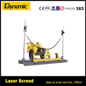 Walk Behind Laser Leveling Screed Machine pictures & photos