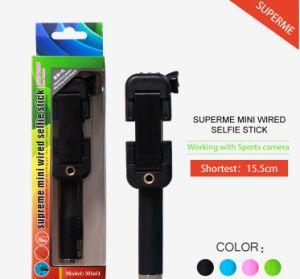 Supreme Mini Monopod Pen Size Selfie Stick pictures & photos