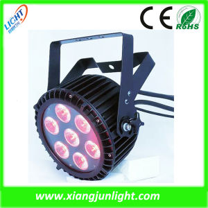 7PCS LED Full Color PAR Light LED PAR Can pictures & photos
