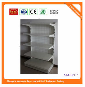 Metal Supermarket Shelf for Dominica Store Retail Fixture 08066 pictures & photos