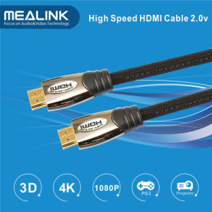 Ultra High Speed 4k HDMI 2.0 Cable with Ethernet Audio Return 4k*2k pictures & photos