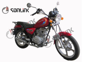 125cc/150cc New Double Mufflers Street Disc Brake Motorcycle (SL150-N1) pictures & photos