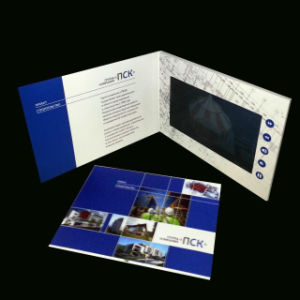 DIY 7inch Screen Advertising Video Card pictures & photos