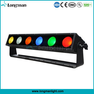 Outdoor 6X25W Rgbaw DMX LED Wall Washer Light Bar for Stage pictures & photos