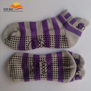 OEM Custom Made Logo Trampoline Anti Skid Non Slip Sock
