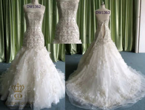 Most Gorgeous Ladies Mermaid Wedding Bridal Party Evening Formal Dress pictures & photos