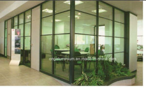 Aluminum Office Partition Wall (glass office partition wall) pictures & photos
