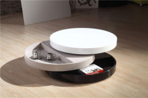 Round Functional Coffee Table End Table (CJ-M083) pictures & photos