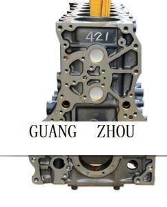Isuzu 6wg1 Cylinder Block (common rail) for Excavator Engine Part Manufature Made in China or Japan pictures & photos