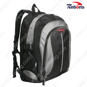 High Quality Black 1680d Durable Laptop Bag Backpack pictures & photos