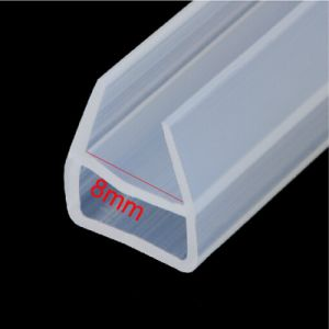 Custom Clear Silicone Rubber Strip pictures & photos