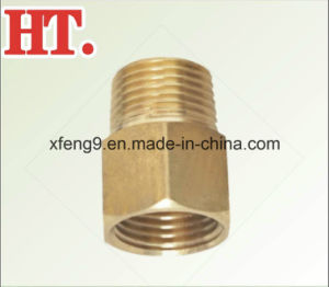 High Quality Threaded Brass Reducing Pipe Fitting Adapter pictures & photos