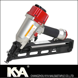 Nt65 Pneumatic Angle Finishing Nailer for Packaging, Decoration pictures & photos