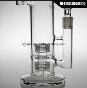 China Wholesale Glass Smoking Water Pipe Mobius Glass Bubbler Matrix Borosilicate Pyrex Hookah Glass Water Pipes Bubbler pictures & photos