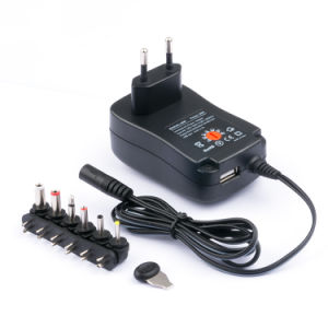 Universal AC DC Adapter Charger 2A 30W Full Power Switching Power Supply