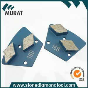 Metal Bond Trapezoid Diamond Abrasive Disc for Concrete/Stone Grinding pictures & photos