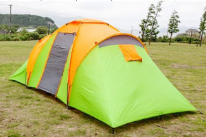Popular Large Family Tent with One Living Room and Two Bedroom (EFT-001) pictures & photos