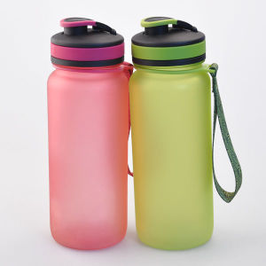 650ml Painting Personalized Plastic Water Bottle, BPA Free Tritan Bottle pictures & photos
