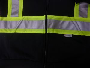 Reflective Safety Hoodie with Detachable Hood pictures & photos