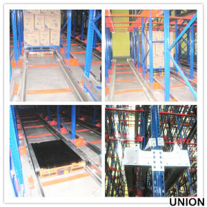 Radio Shuttle Pallet Racking System in Warehouse pictures & photos