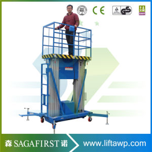 12m Push Around Aluminum Alloy Lift Platforms Working Platform pictures & photos